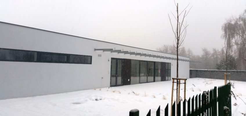 Klubovna v zimě