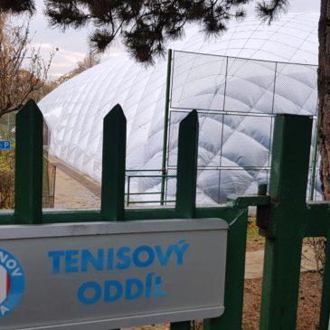 Zveme vás do nové tenisové haly na Ladronce!